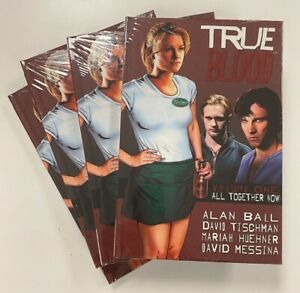 TRUE BLOOD VOL. 1 HARD COVER • 4 BOOK BUNDLE • GRAPHIC NOVEL • HBO • IDW