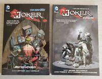 The Joker Death Of The Family Endgame TPB TP Lot DC Batman Snyder Capullo New 52