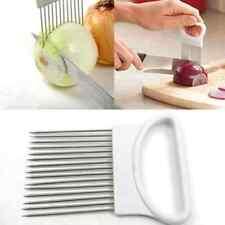 Edelstahl Zwiebel Halter Allesschneider Gemüseschneider Küchengerät Gadget