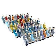 50 pcs. Small Plastic Figurines G Scale People 1:24 or 1:25 G Gauge Model People