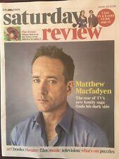 TIMES REVIEW July 2018: Matthew MacFadyen Interview (Succession) Mark Gatiss