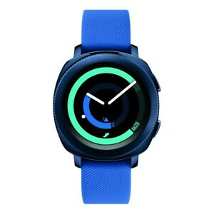 Samsung Gear Sport Smart Watch with Rubber Strap 42.9mm SM-R600NZBAXAR USED