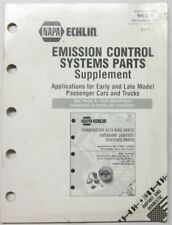 1997 Napa Echlin Emission Control Systems Parts Supplement Import and Domestic