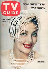 1959 TV Guide May 16 - Loretta Young; Pacific Bandstand-Santa Barbara;Sgt. Bilko
