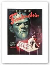 Frankenstein Art Print 18x23