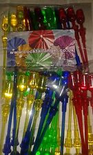 WINE GLASS COCKTAIL STICKS PACK OF 24