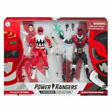 Power Rangers Lightning Collection In Space Psycho Red Ranger and Lost Galaxy