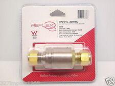 "Reflex 15mm 350kPa Pressure Limiting Valve Male Compression Fitting 1/2"" BSP"
