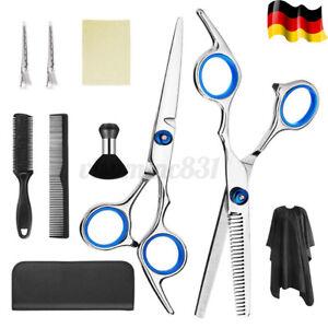 DE Profi Friseurscheren Haarschere Effilierschere Scissors Haarschneiden Set