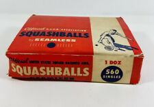 11 Vintage Seamless Sporting Goods Official USSR Squashballs Squash Balls