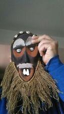 Antique african Art , wood mask