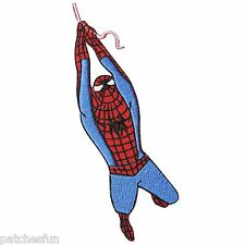 Spider Man Rope Comics Superhero Hero DC Sew Embroidered Iron on Patches #0501