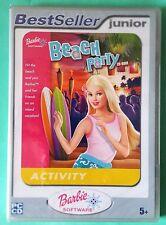 BARBIE BEACH PARTY PC CD-ROM GAME brand new & sealed UK BEST SELLER JUNIOR RANGE