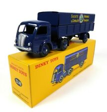 Tracteur Panhard + Remorque SNCF DINKY TOYS 32AB Voiture Camion miniature MB105