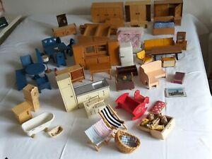 Großes Konvolut Möbel - gute Teile Ersatzteile basteln ergänzen Puppenhaus