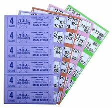 Bingo Tickets 6000 4 Page 6 To View Bingo Books