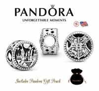 Authentic Pandora Harry Potter Hogwarts School of Witchcraft and Wizardry Charm