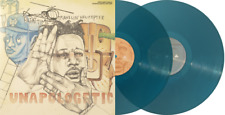 Open Mike Eagle - Unapologetic Art Rap Vinyl Me Please VMP Blue Clear NEW