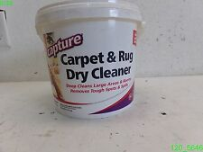 Charming Capture Carpet U0026 Rug Dry Cleaner 4 Lbs REMOVES TOUGH SPOTS U0026 SPILLS   NEW