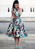 Chi Chi London Floral Dress SIZE UK8 EUR36 US4