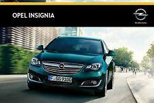Opel Insignia 06 / 2014 catalogue brochure polnisch polonais