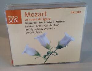 MOZART - LE NOZZE DI FIGARO - P. DOMINGO - Philips - Cofanetto CD - OPERA
