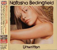 NATASHA BEDINGFIELD Unwritten +2 JAPAN CD OBI BVCP-27068