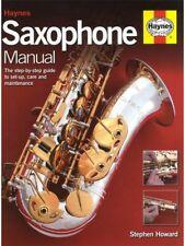HAYNES Saxophone Sax Maintenance Manual Repair Book PADS LATEST 2015 VERSION NEW