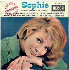SOPHIE Quand un air vous possède 1963 Twist Yé-Yé Girl EP BIEM Spécial Copains