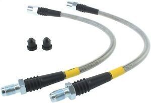 StopTech 950.39500 Stainless Steel Braided Brake Hose Kit