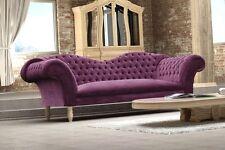 Cupido 3-Sitzer Sofa 3er Steppungen Couch Chesterfield Design 1077