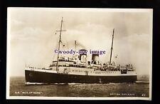 f1413 - British Railways Ferry - Isle of Sark - postcard