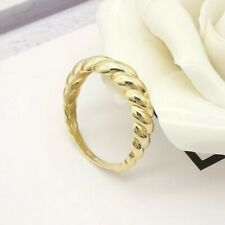 MADE TO ORDER 9k Solid Yellow Gold Classic Twisted Rope Ring  by Lepos