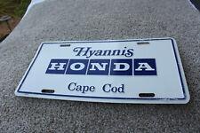 Hyannis Honda Cape Cod Front License Plate