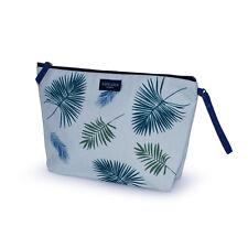 Aspegren Kulturbeutel Clutch Kosmetiktasche groß Bag Palm Blätter Geschenk Reise