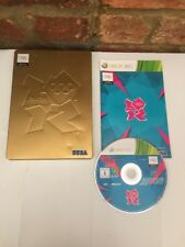 London 2012 Olympics Video Game Steelbook Case, Gold Limited Edition Xbox 360