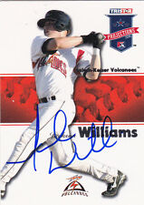 JACKSON WILLIAMS SALEM-KEIZER VOLCANOES SIGNED CARD SAN FRANCISCO GIANTS ROCKIES