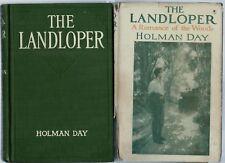 "The Landloper 1919 Holman Day ""Romance of a Man on Foot"" Illustrated"