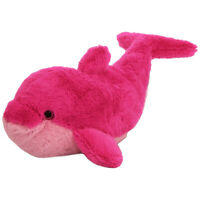 "Wild Republic Cuddlekins 16"" Soft Plush Pink Dolphin Stuffed Animal Toy For Kids"
