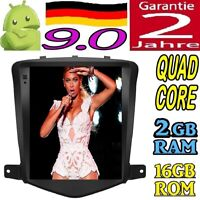 """10.4"""" ANDROID 9.0 CHEVROLET CRUZE RADIO TESLA AUTO GPS USB CAR WIFI NAVI 2GB RAM"""