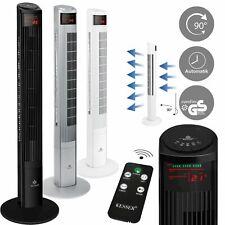 KESSER® Turmventilator mit Fernbedienung 55W Ventilator Standventilator 120cm