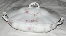 "Habsburg Austria pattern 9166 11.1/4"" Covered Vegetable Dish Bowl"