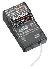 FUTABA R6106HF FASST 2.4GHZ RC RECEIVER FUTL7650 14SG 8FG 7C TM8 18MZ 10C 6EX !!