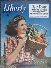 Canadian Liberty Magazine  September 29,1945  *Harvest Model Cover* GREAT ADS