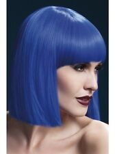 Lola Wig Blue New Adult Halloween Cristmas Womens Sexy Look Accessorie by Fever