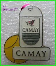 Pin's pins Badge Gel douche CAMAY balle de tennis #1556