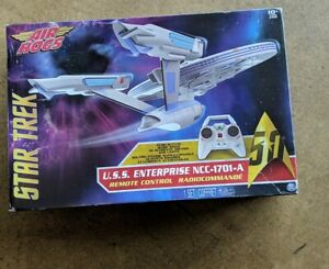 Star Trek U.S.S Enterprise NCC-1701 Remote Control Drone Tyco NEW Open Box