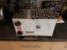 Vintage 1990s Rowlett Rutland Regent Sandwich 2 Slot Commercial Toaster