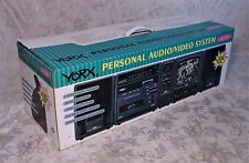 RARE Vintage Yorx AV2004 TV Cassette Radio Speakers Combo Boombox New in Box
