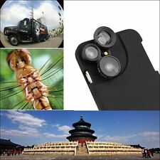 4in1 Camera Lens Wide angle +Macro + Fisheye +Telephoto Case For iPhone 6 PLUS